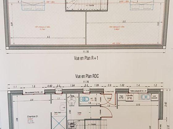 Vente maison 4 pièces 81,77 m2