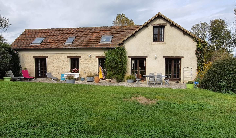 Seaside house and garden Merville-Franceville-Plage