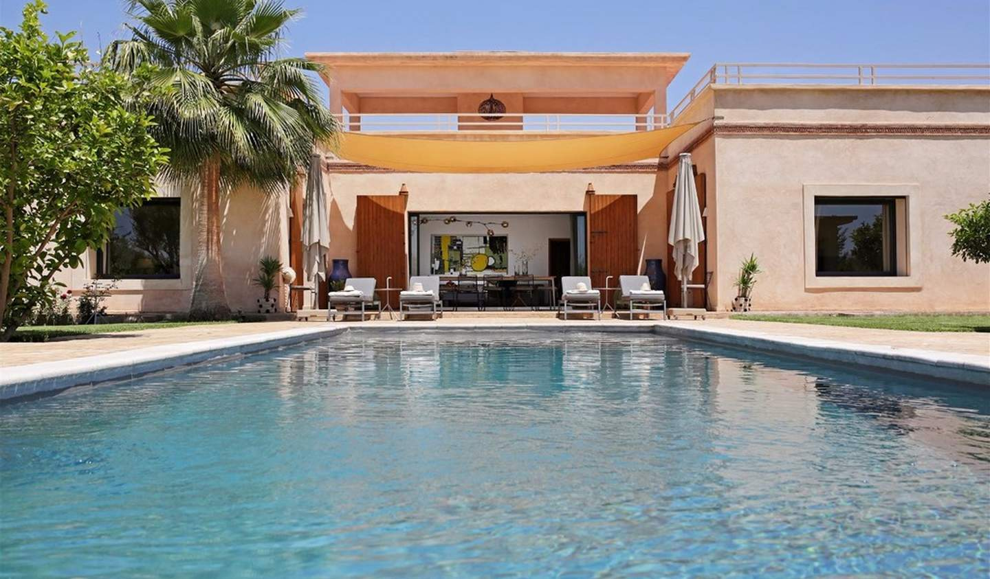 Villa with pool and garden Marrakesh