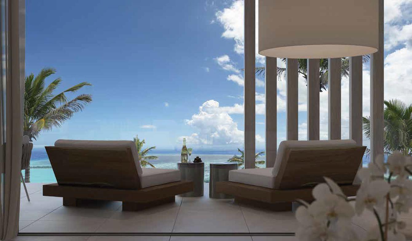 Appartement avec terrasse et piscine Pointe aux Cannoniers