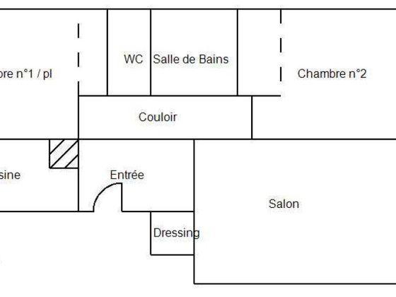 Vente appartement 3 pièces 84,5 m2