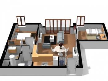 Appartement 3 pièces 59,82 m2