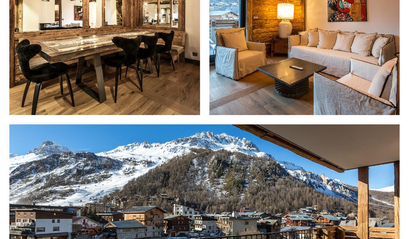 Appartement contemporain avec terrasse Val-d'isere