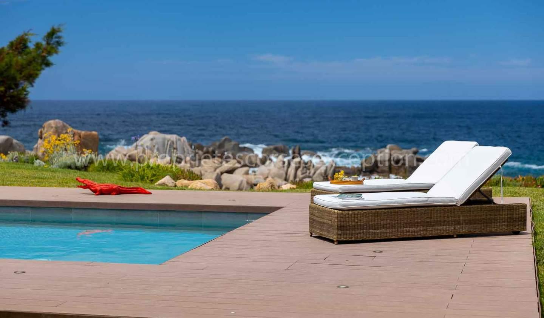 Seaside property with pool Coti-Chiavari