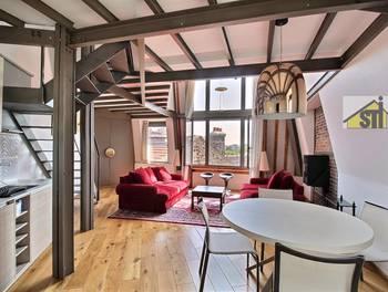 Appartement meublé 2 pièces 68,9 m2