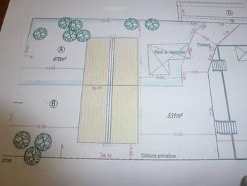 Terrain 470 m2