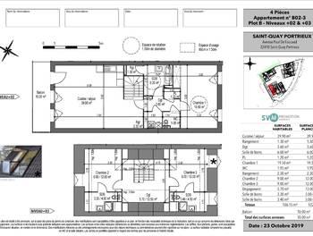 Appartement 4 pièces 106,15 m2