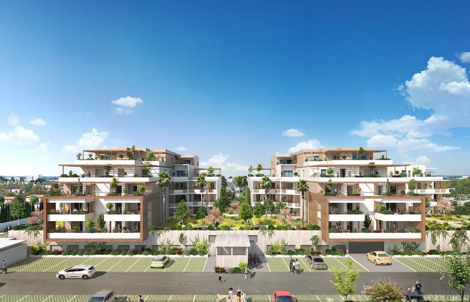 Vente appartement 4 pièces 86 m² à Nimes (30900), 297 000 €