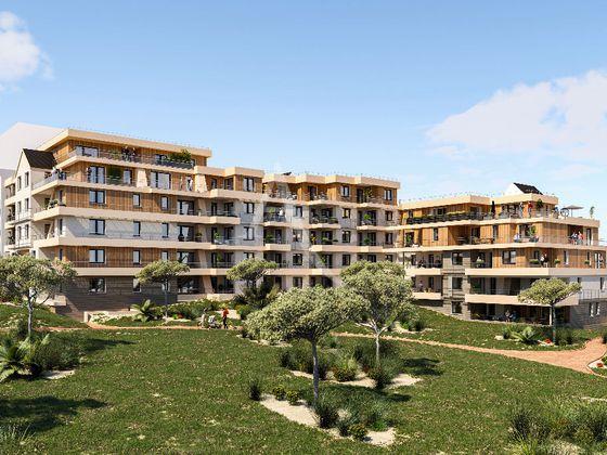 Vente appartement 2 pièces 43,59 m2