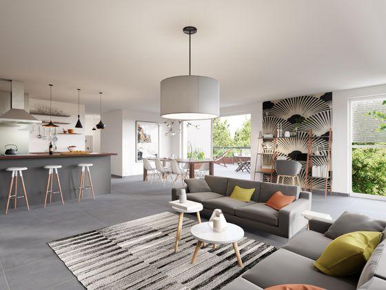 Vente appartement 5 pièces 94,2 m2