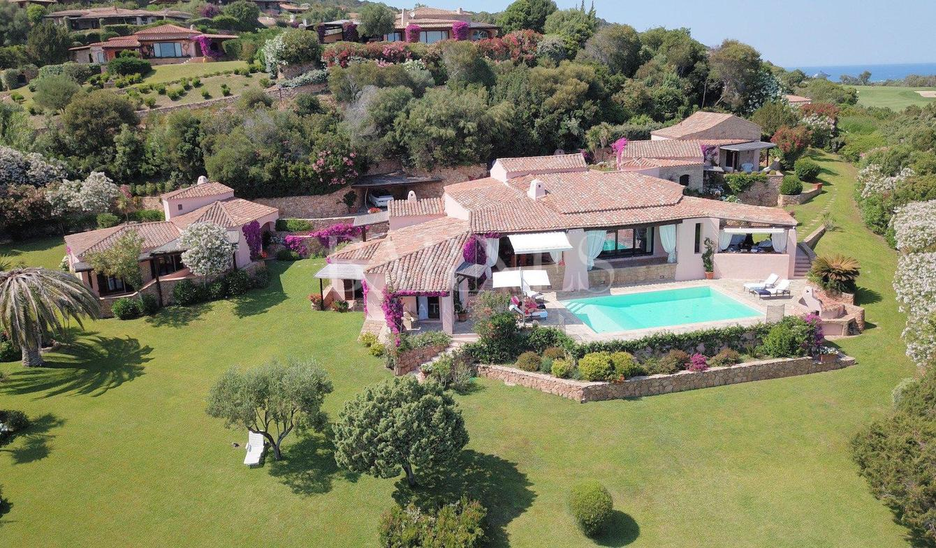 Villa with pool Porto Cervo