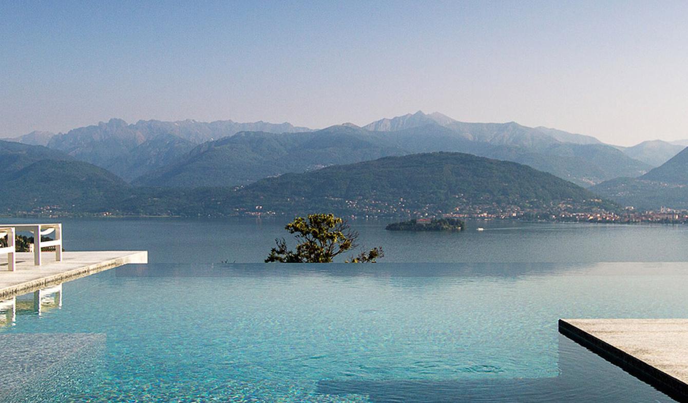 Villa avec piscine et jardin Stresa