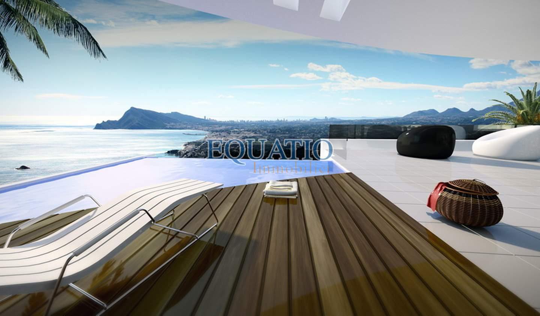 Villa avec piscine et terrasse Altea