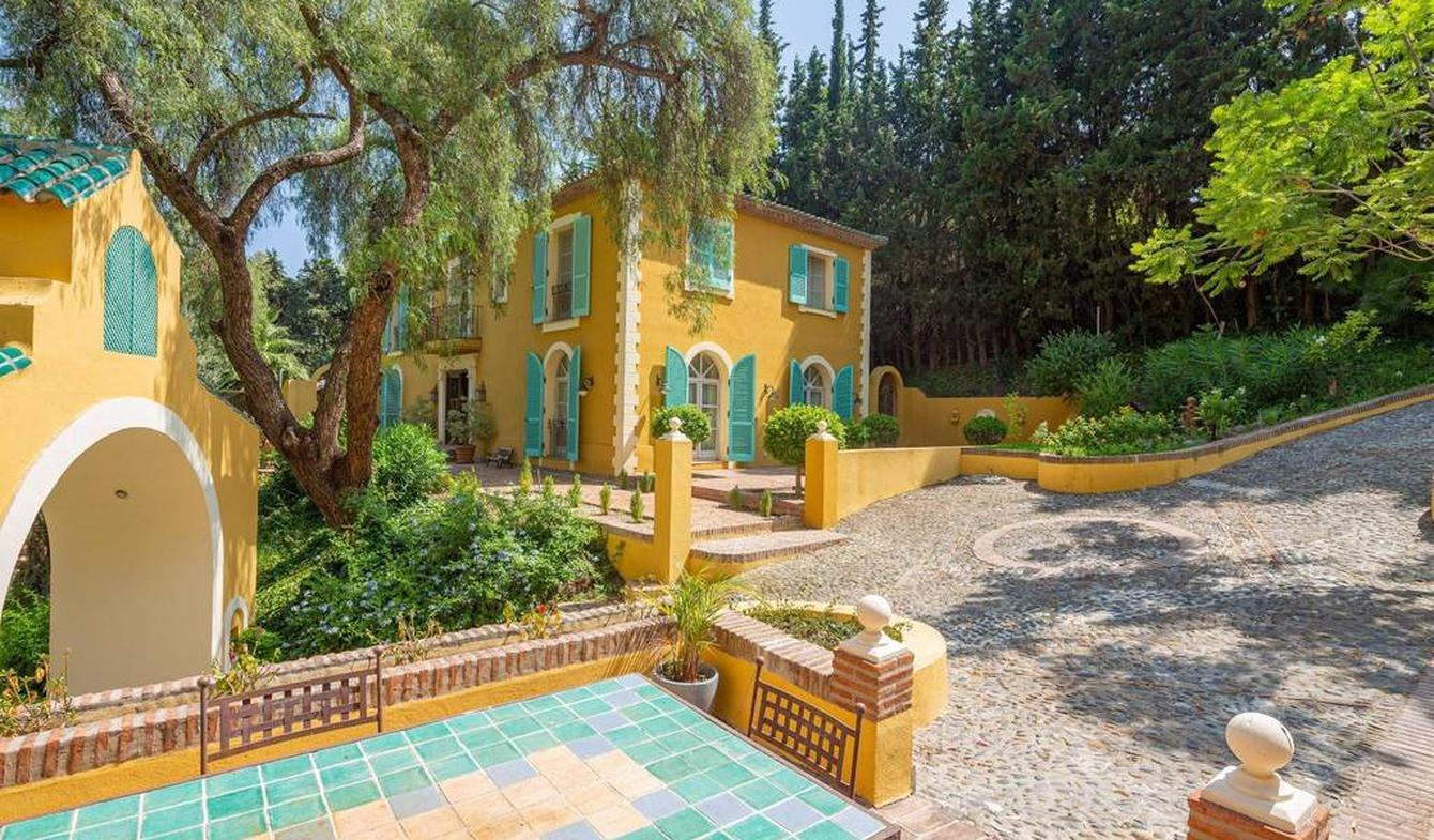 Hôtel particulier avec jardin Marbella