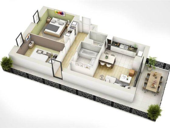 Vente appartement 4 pièces 75,86 m2