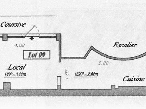 Location divers 1 pièce 27,1 m2