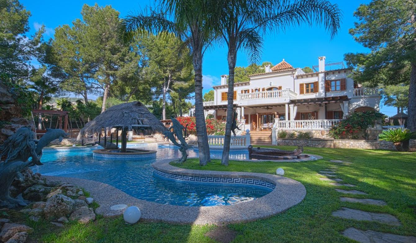Maison avec piscine en bord de mer Majorque