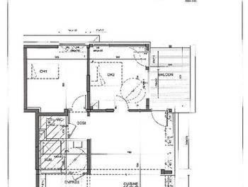 Appartement 3 pièces 74,57 m2