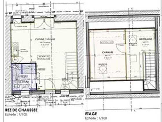 Vente maison 2 pièces 46,19 m2