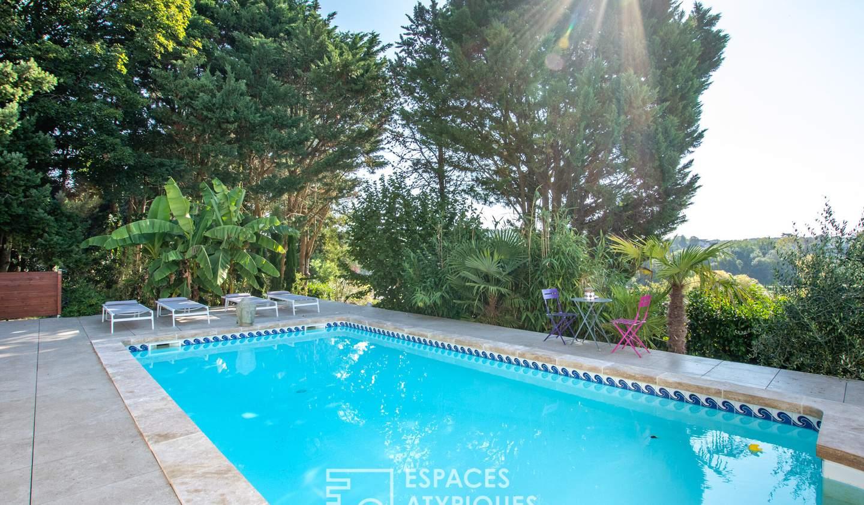 Maison avec piscine La Membrolle-sur-Choisille