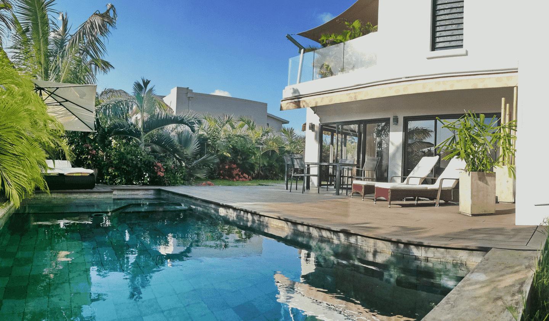 Villa avec piscine et jardin Trou aux Biches
