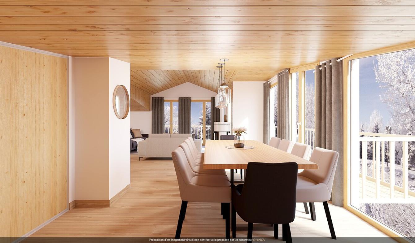 Appartement avec terrasse et piscine Les menuires