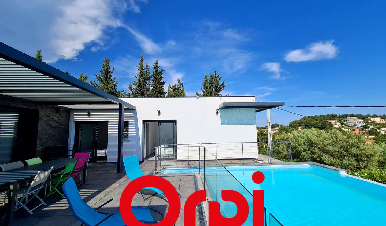 House with pool Bandol