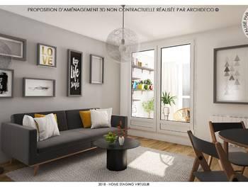Appartement 2 pièces 31,39 m2