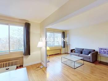Appartement meublé 3 pièces 77,57 m2