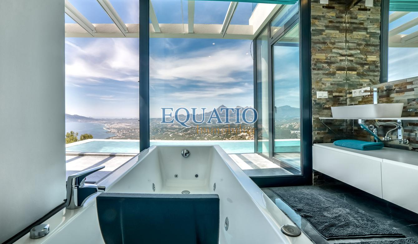Villa avec piscine et terrasse Altea Hills