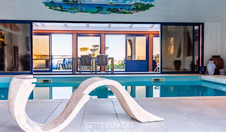 Maison avec piscine et terrasse Pléneuf-Val-André