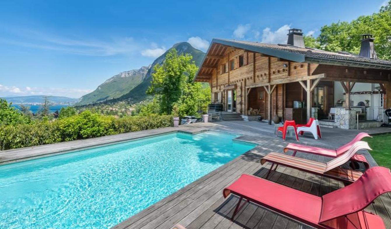 Maison avec piscine et terrasse Menthon-Saint-Bernard