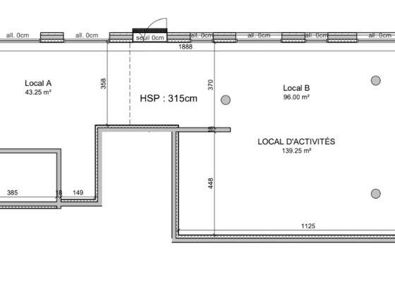 Vente divers 140 m2