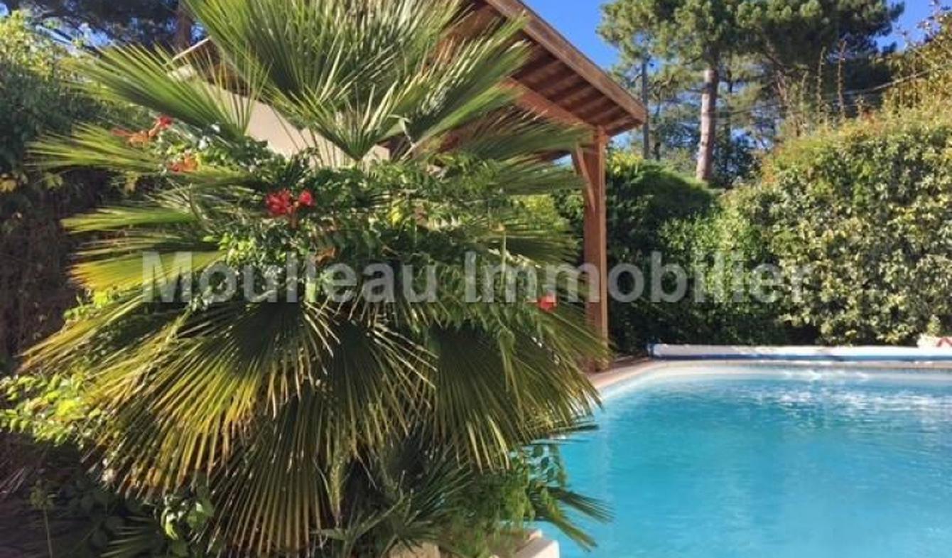 Villa avec piscine et terrasse Pyla plage