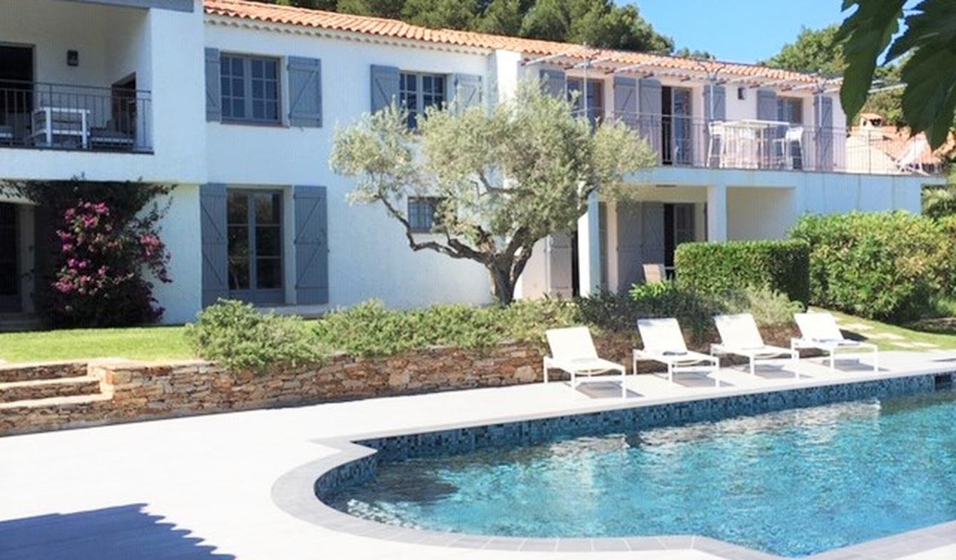 Villa avec piscine en bord de mer La Croix-Valmer