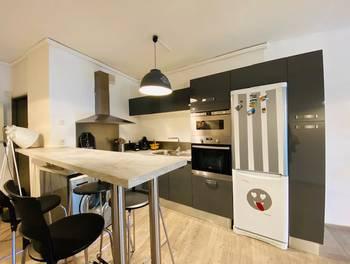 Appartement meublé 2 pièces 72,32 m2