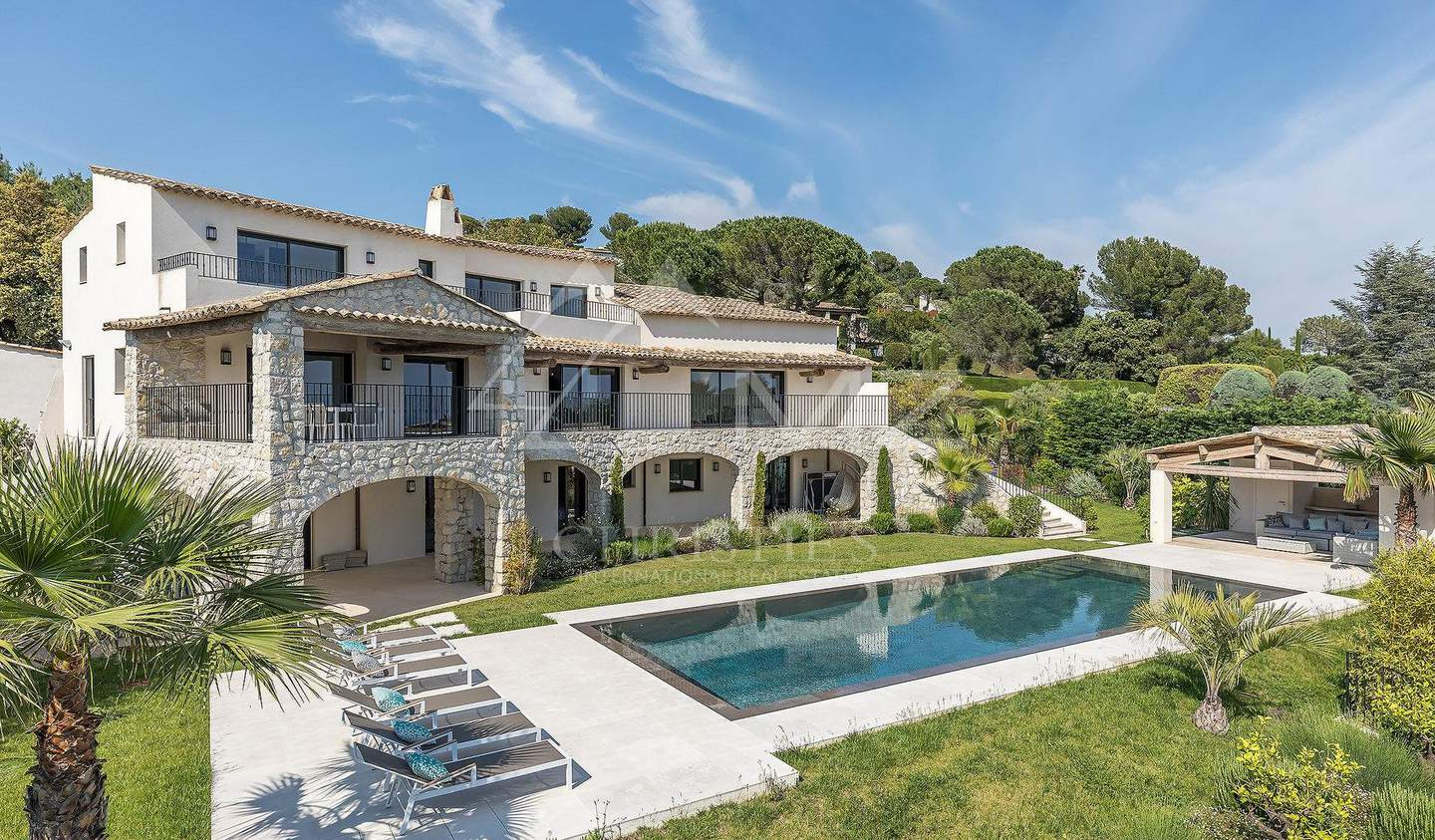 Villa with pool La Colle-sur-Loup