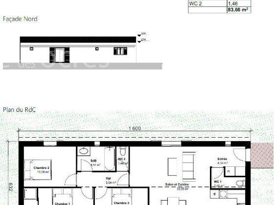 Vente terrain 503 m2