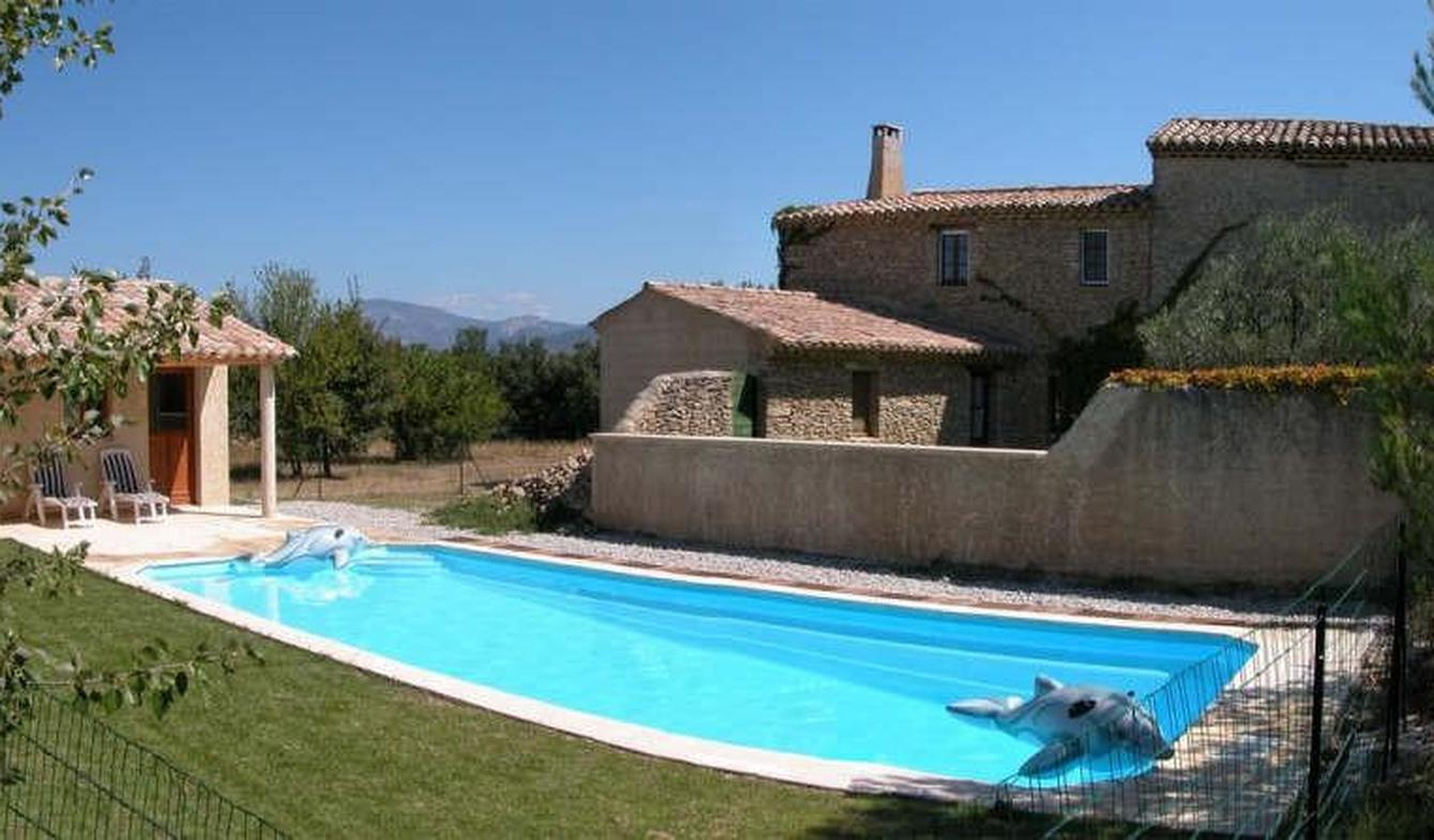 Ferme avec piscine Vaison-la-Romaine