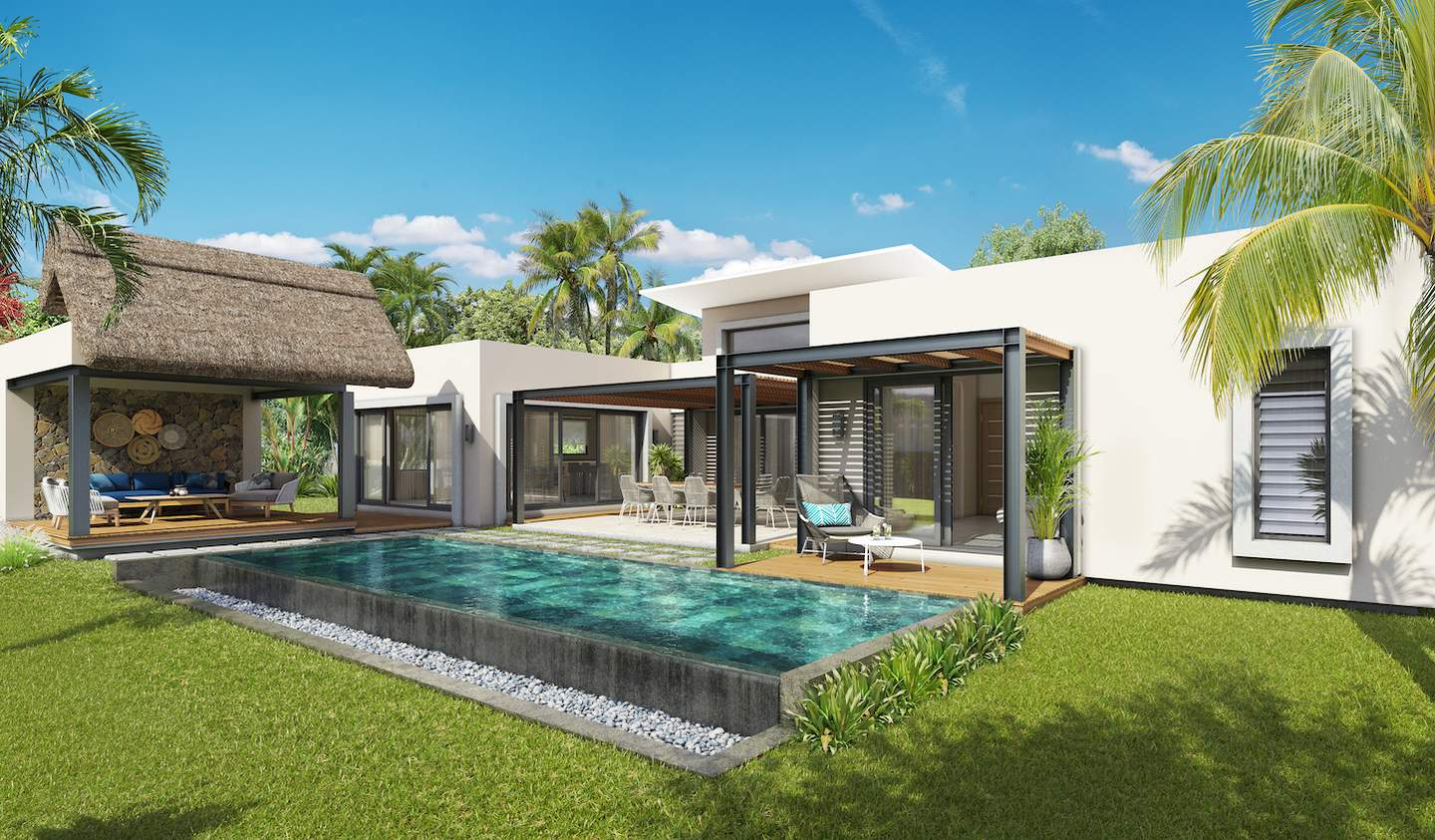 Villa with pool Grand Baie