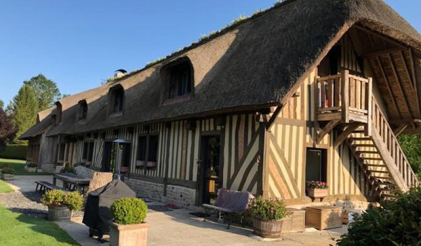 Maison avec piscine et terrasse Saint-Gatien-des-Bois