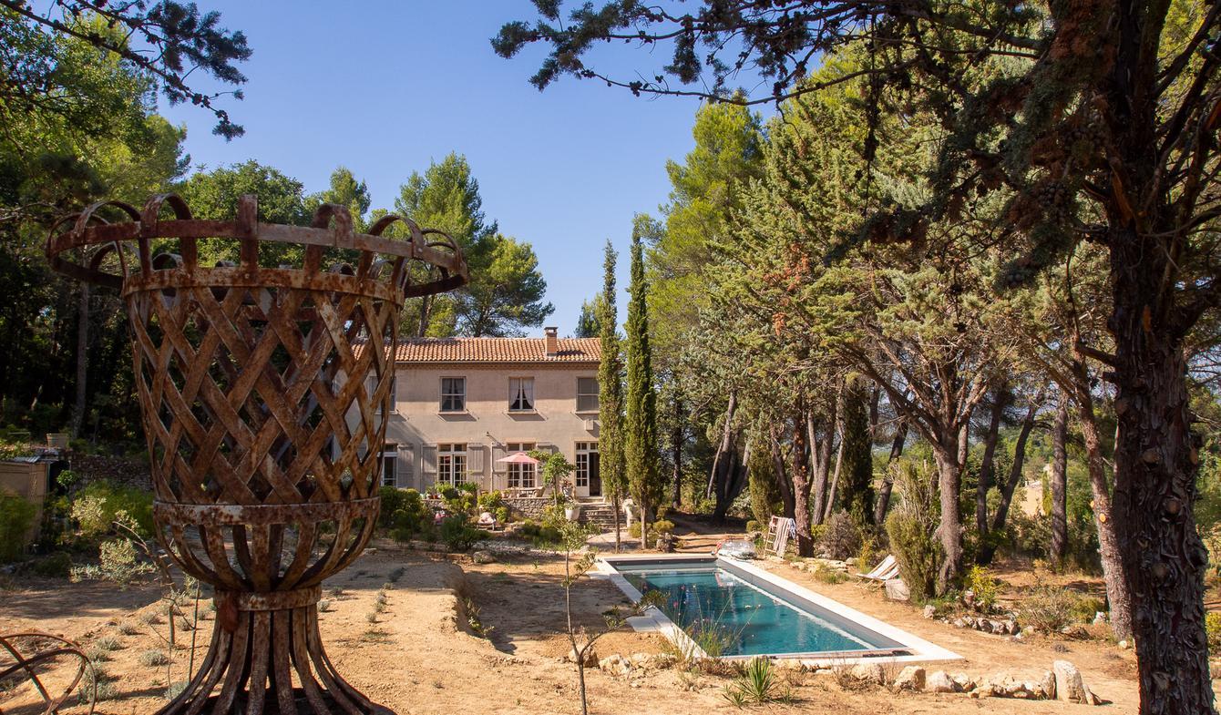 Propriété avec piscine et jardin Oppède