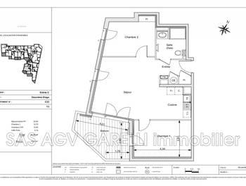 Appartement 3 pièces 61,65 m2