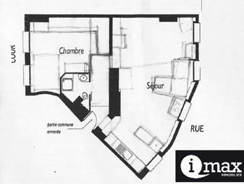 Appartement 3 pièces 54,42 m2