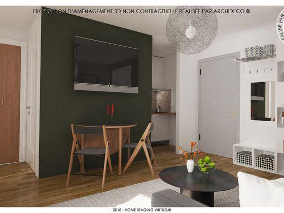 aménagement appartement 34 m2