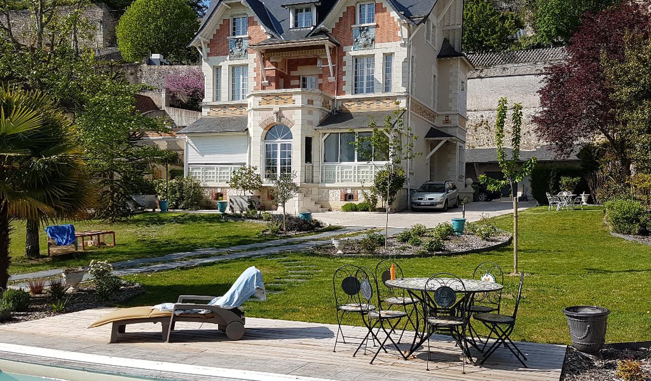 Maison avec piscine Rochecorbon