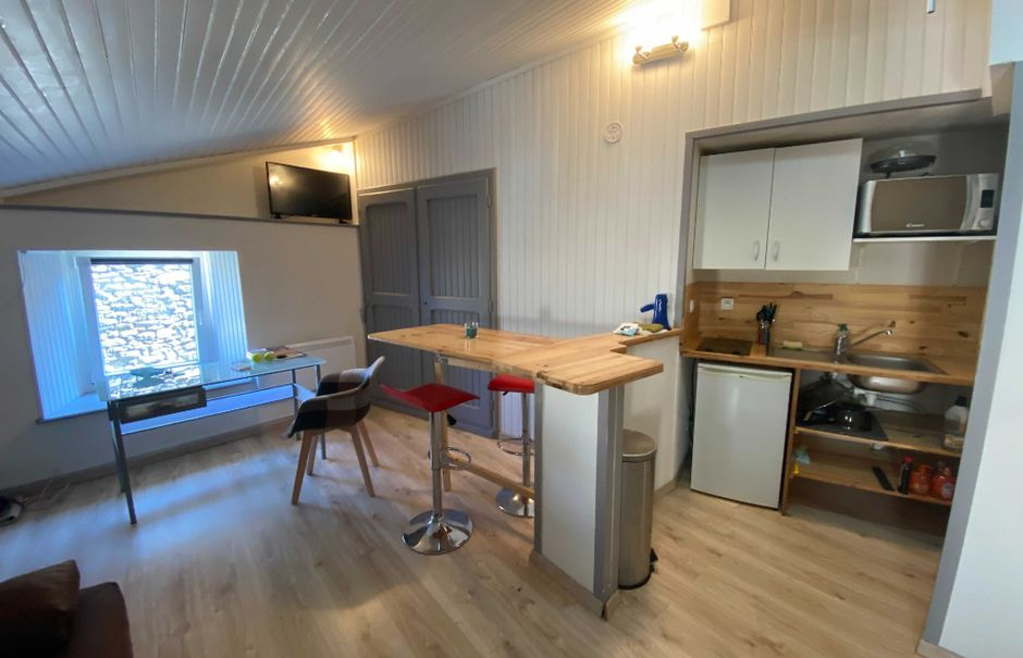 Location  studio 1 pièce 22 m² à Saint-Flour (15100), 330 €