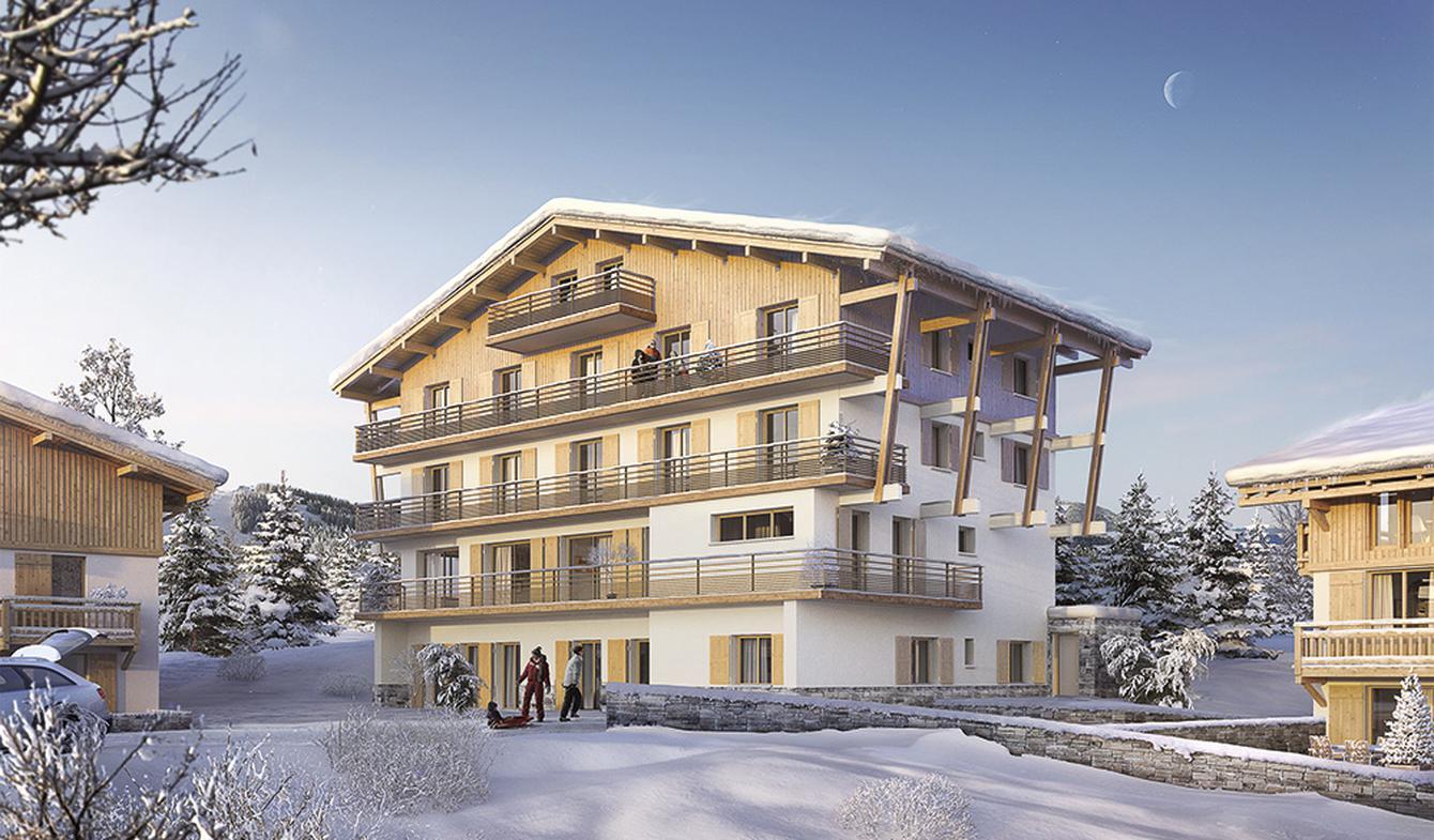 Appartement contemporain avec terrasse Megeve
