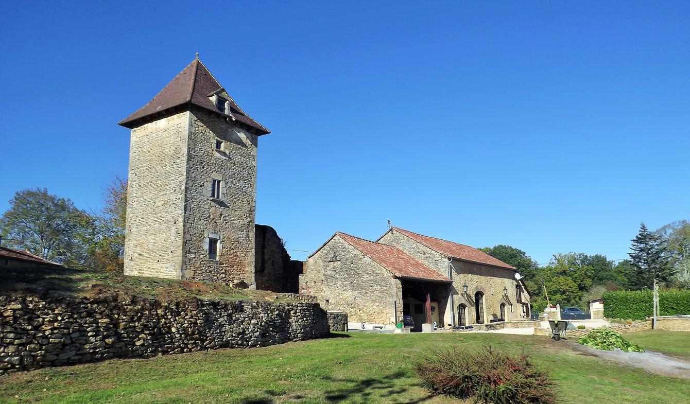 House with garden Saint-Cernin-de-l'Herm