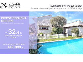 viager à Villeneuve-Loubet (06)